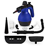 Comforday Upgraded 350ML 1050W Multi-Purpose Handheld Steam Cleaner with Safety Lock and 9