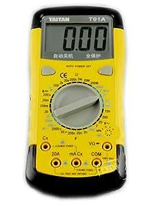 JMT Outil de capacité multimètre multifonctions numérique pleine Protection arrêt automatique