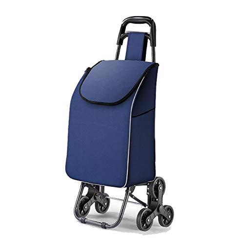 RTTgv Einkaufstrolleys Warenkorb 30 Liter Einkaufstasche Aluminium klappbar (Farbe : A)