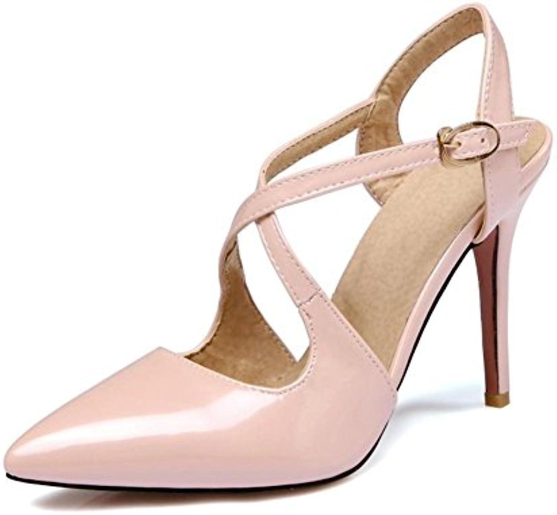 NVXIE Femmes Cheville Sangle des  s Chaussures Mariage De de Mariée Chaussure Pointu Doigt de De Pied Strappy...B07FHYTZK9Parent d87a1b