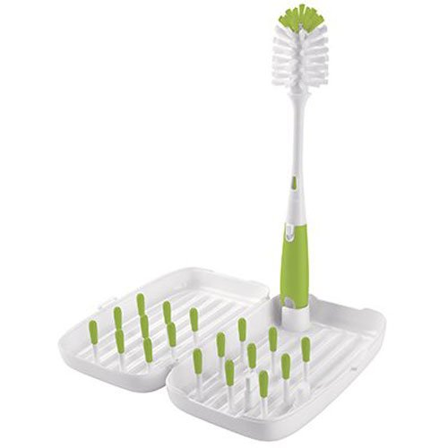 oxo-tot-on-the-go-travel-drying-rack-with-bottle-brush-green-by-oxo