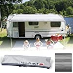 Fiamma Campingartikel 071225cm Roll-Out Caravan Vorzelt–Deluxe grau (06760a01t)