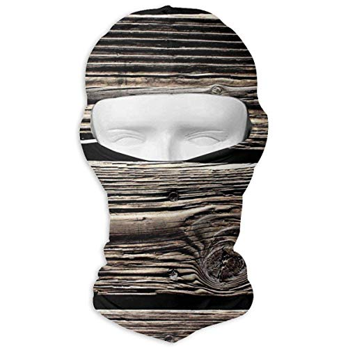 Price comparison product image Rustic Old Barn Wood Winter Motorcycle Full Face Mask Dust Proof Neck Cover Hood Men Women