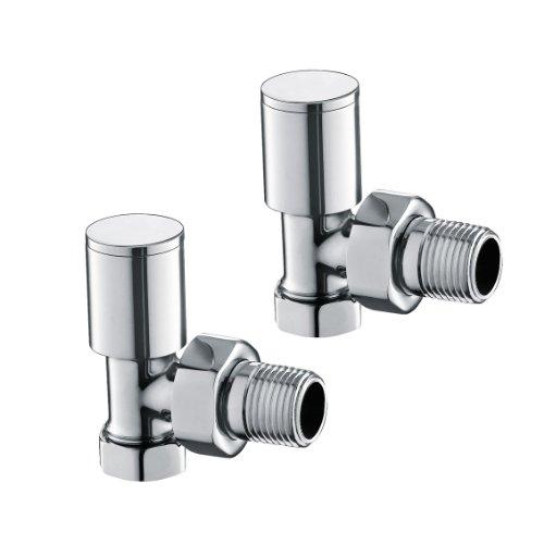 soak Thermostatventil, 15 mm Rohranschluss - verchromt, Badheizung / Handtuchheizung