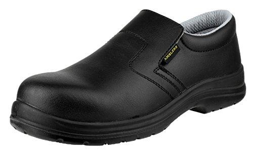 Amblers Safety FS661 antiscivolo per scarpe di sicurezza sul lavoro Nero
