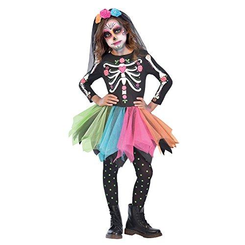 Amscan Kind Mädchen Mexican Sugar Skull -