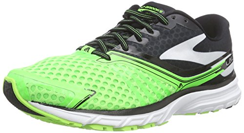 Brooks Launch 2 Herren Laufschuhe Grün (BriteGreen/Black/White)