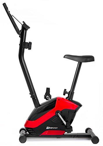 Hop-Sport Heimtrainer HS-045H EOS Pulsmessung, Tablet-Halterung, Scan, bis 120kg (Rot)