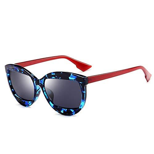 Polarisierte Sonnenbrille mit UV-Schutz Cat Eyes Sonnenbrillen für Männer Frauen UV-Schutz farbige Linse Outdoor Driving Reisen Sommer Strand Superleichtes Rahmen-Fischen, das Golf fährt ( Farbe : 7 )