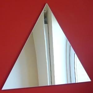Triangle Miroir 20cm x 20cm