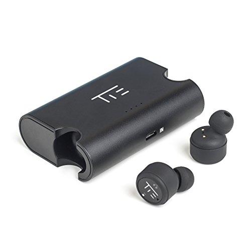 TIE Truly Pro X2T Bluetooth 4.2 Earphones mit Powerbank schwarz