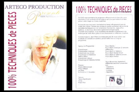 Jean-Pierre Vallarino DVD 100% Techniques de Pièces