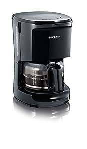 """Severin KA 4481 Kaffeeautomat """"Start"""" bis 10 Tassen, schwarz"""