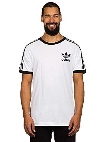 adidas Herren Clfn T-Shirt, White/Black, L