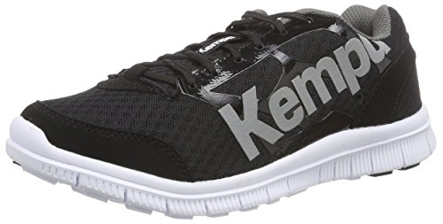 Kempa  K-FLOAT, Chaussures de handball mixte adulte Multicolore (Noir/Anthra)