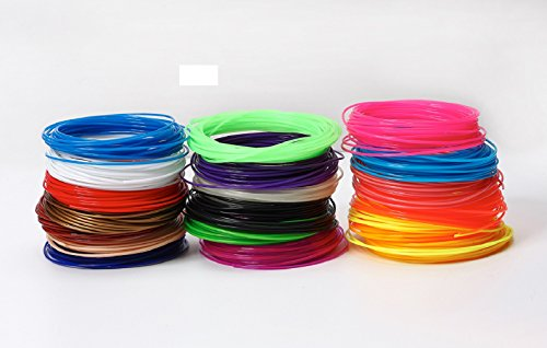 3D PrintFilament, Ink Filament PLA Filament 3D Stift Filament für 3D Drucker-Stift 3D Pen 3D Stift 3D Drucker 30 PCS 1,75 MM 10M