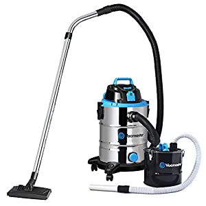 Vacmaster 1500W Wet and Dry Vacuum Cleaner Dust Extracting Industrial + Fireplace Ash Tank