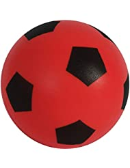 HTI Toys Size 5 Soft Sponge Foam Football Indoor & Outdoor Use For Kids and Adults - Red