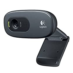 Logitech C270 Webcam Hd High-quality Video & Audio Technology - Black