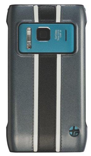 Trexta Racing Series Custodia per Nokia N8, colore: grigio (016384)