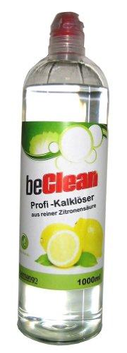 beClean Entkalker 1 Liter Zitronensäure 50% flüssig (E330)