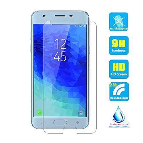 2pcs Claro Vidrio templado Pantalla Cristal Película Protector Para Samsung  Galaxy J3 2018 J337/Amp Prime 3 J337AZ/J3 Achieve J337P/Express Prime 3