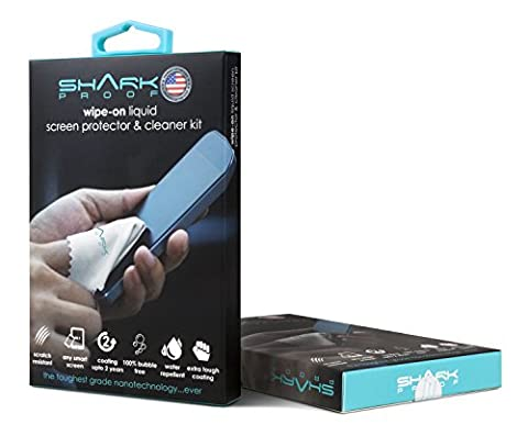 Shark Proof Liquid Wipe-On Screen Protector