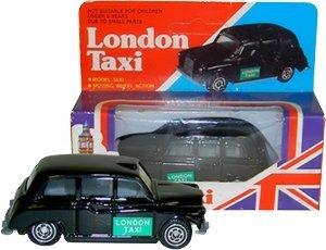 TB Diecast London Taxi (Mini) - Moving Wheel Action by (Taxi Diecast)