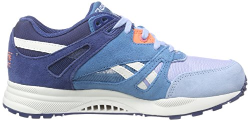Reebok  Ventilator, Chaussures de course femme Bleu - Blau (Batikblue/Toughblue/Deniumglow/Coral Pop)