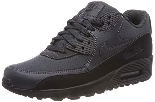 Nike Herren Air Max 90 Essential Sneakers, Schwarz (Black/Anthracite 009), 42.5 EU (Schwarz Air Max Nike Essential 90)