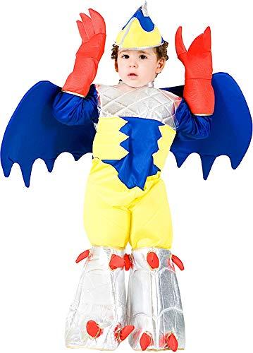 Costume di carnevale da guerriero di gorm artiglio baby vestito per bambino ragazzo 1-6 anni travestimento veneziano halloween cosplay festa party 7406 taglia 6