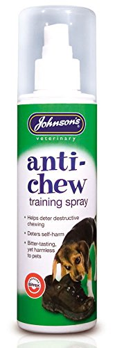 Johnson's Anti Chew Training Spray Behave No Chew Repellent Pump Action Spray