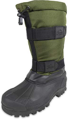 normani Canadian Winterstiefel Kälteschutzstiefel Ice-Boots bis -40 Grad Farbe Oliv Größe 37/3