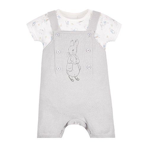 mothercare-baby-peter-rabbit-knitted-set-dungarees-grey-newborn-baby