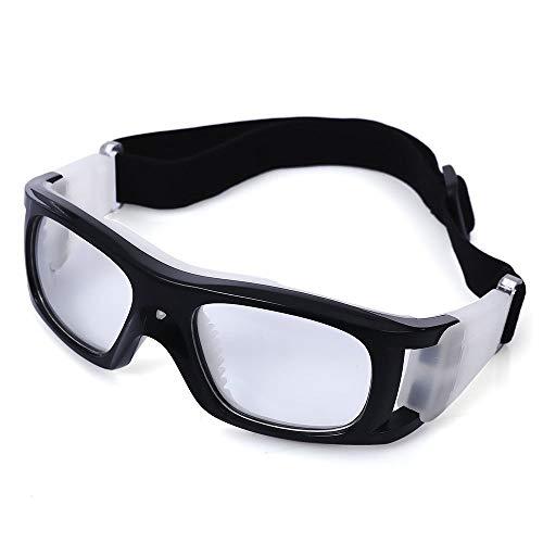 Wencaimd Brille für den Sport Basketball Schutzbrille Outdoor Sport Fußball Skibrille mit Myopie Objektiv für draußen