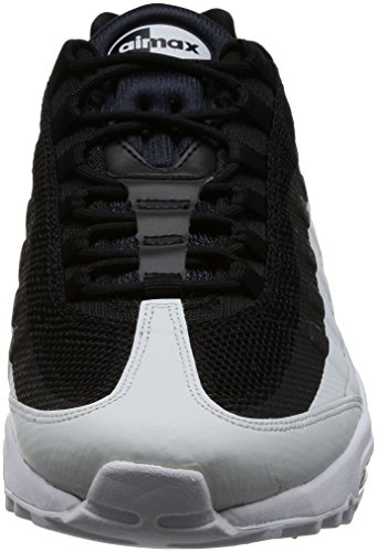 low priced 3a58f cc12c Nike Air Max 95 Ultra Essential, Chaussures De Course Homme Schwarz (noir    Blanc ...