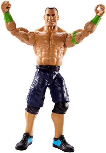 Mattel GCB41 - WWE Basis Actionfigur (15 cm) John Cena, Spielzeug ab 6 Jahren