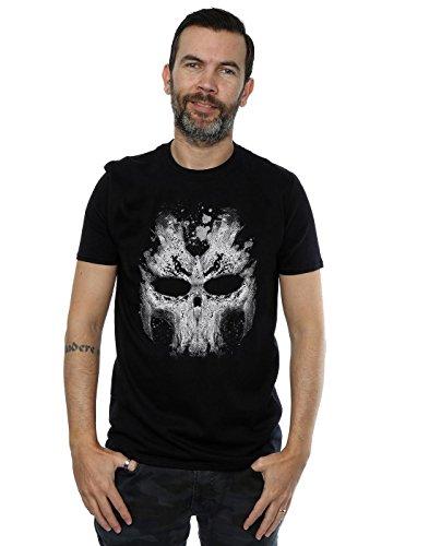 Marvel Herren Captain America Civil War Crossbones Skull T-Shirt Large Schwarz