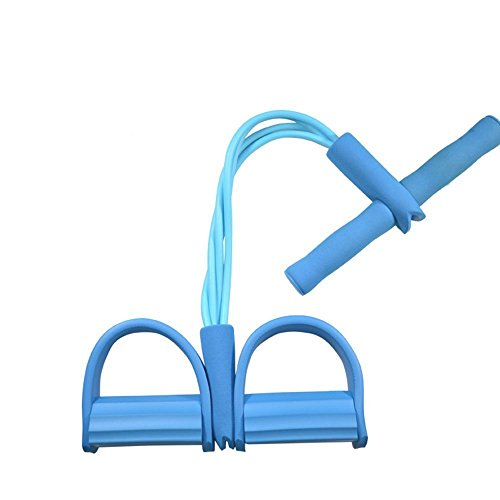 Bauchtrainer Fitnessbänder Widerstandsbänder Widerstand Band Yoga Sport Ausrüstung für Bauch Abdomen Taillen Arm Bein Übung tragbares Haupt Sit-ups Gerät mit elastischer Bodybuilding Eignung