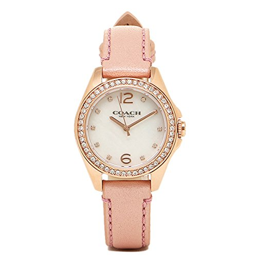 Coach Ladies TRISN Analog Dress Quartz Watch 14502176