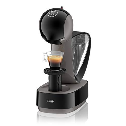 De'Longhi EDG EDG 260.G | NESCAFÉ Dolce Gusto Infinissima | Kapsel Kaffeemaschine | Für heiße und kalte Getränke | 15 bar Pumpendruck für samtige Crema | Charcoal Grey
