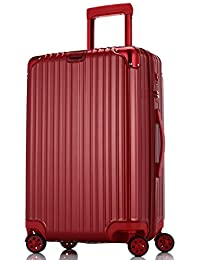 Di Grazia Red Colour 28 Inch Men Women Children Tourist Rolling With 4 Wheels Business Laptop Case Trolley Luggage...