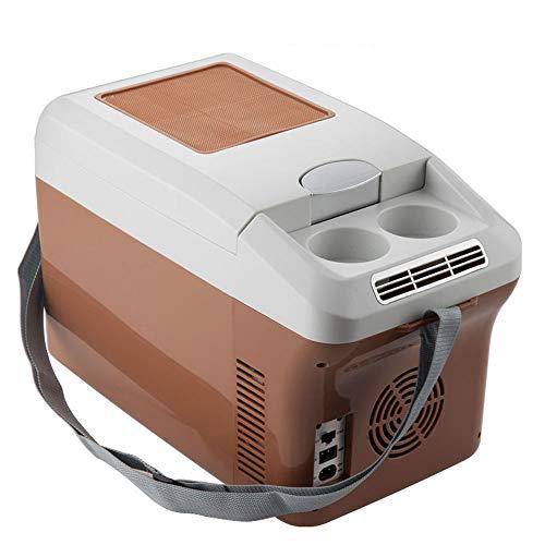 Refrigerador Portátil, Congelador Comprimido con Congelador 15L, Mini Refrigerador De 12 V,...