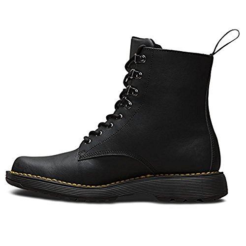 Dr.Martens Mens Lawton Peidmont Split Leather Boots Black Peidmont Split