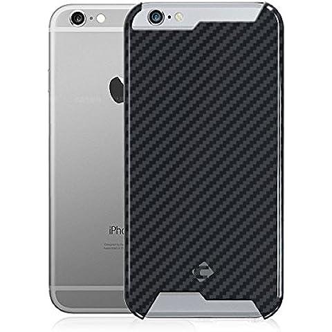 """t-carbon Handmade articolo Ultra Sottile Lusso 100% Vera pura fibra di carbonio per iPhone 6Cover + libero protezione dello schermo in vetro temperato con scatola regalo, iPhone 6S Plus 5.5"""" Glossy"""