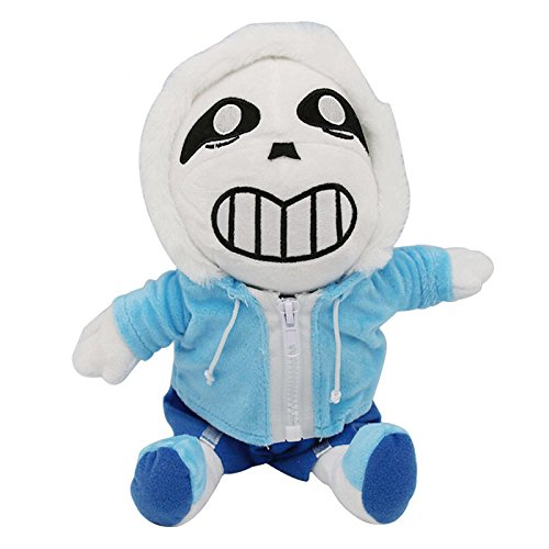 YODE Undertale Sans Stuffed Plush Doll Sans Skull Toys For Halloween 30cm