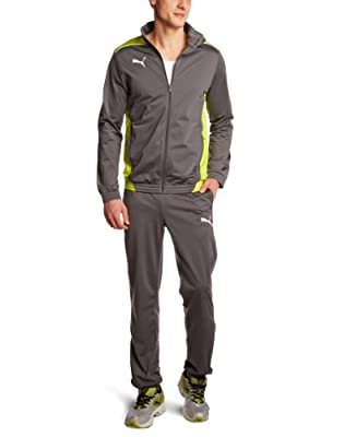 PUMA Herren Trainingsanzug Foundation Poly Suit II