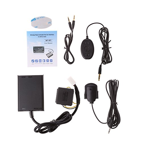 Kanitry CD Changer,Auto Bluetooth Kits Freisprecheinrichtung Stereo AUX Adapter Interface für Honda Civic Accord - Auto Interface Kit