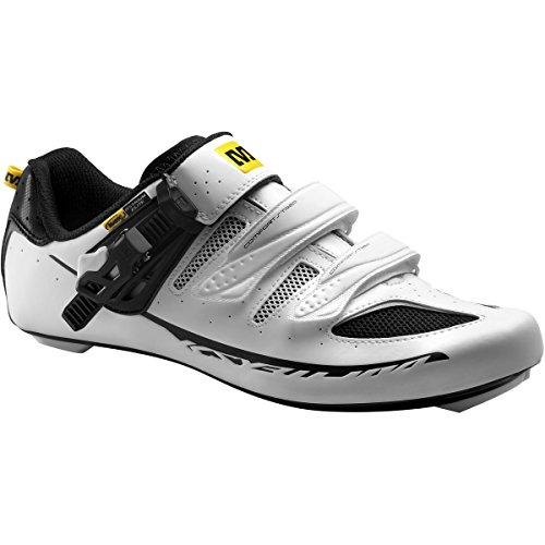 Mavic Ksyrium Elite - Zapatillas ciclismo carretera para hombre - blanco Talla 43 1/3 2015