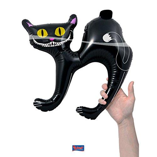Katze 40cm x 41cm (Schwarze Katze Halloween)
